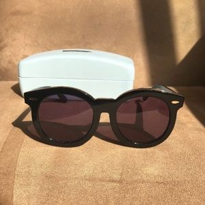 Karen Walker Super Duper Thistle Sunglasses RARE